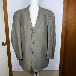 Hugo Boss Silk/Wool Suit Sz 44R